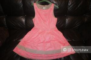 Платье кружевное - р 50 /us 14 jessica simpson dress