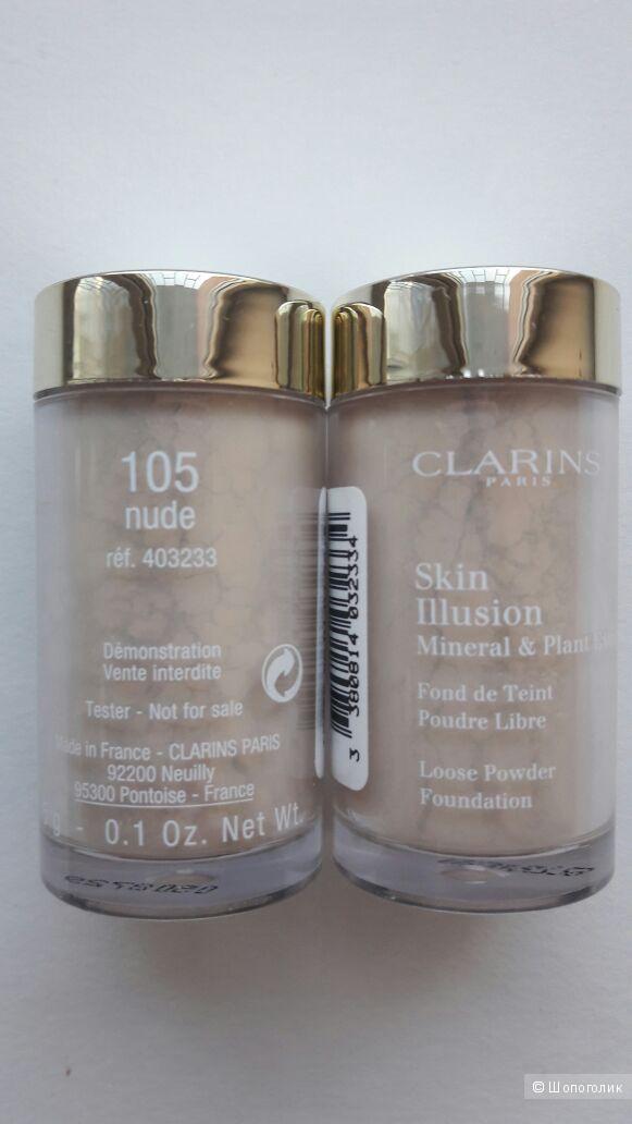 Пудра Clarins Skin illusion тон 105