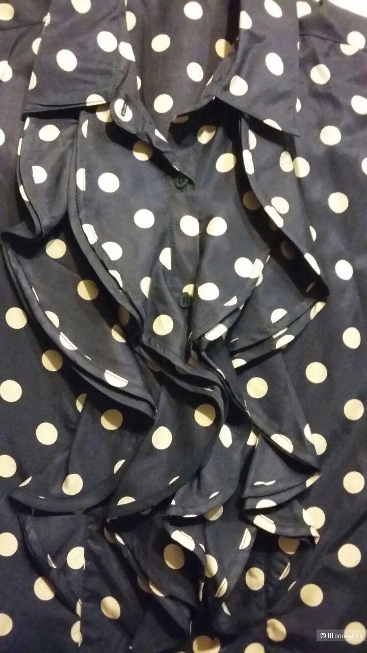 Блуза из 100% шелка