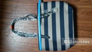 Новая текстильная сумка David Jones