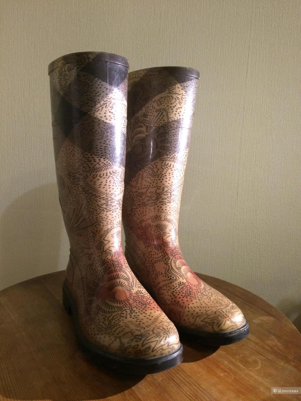 Резиновые сапоги Burberry