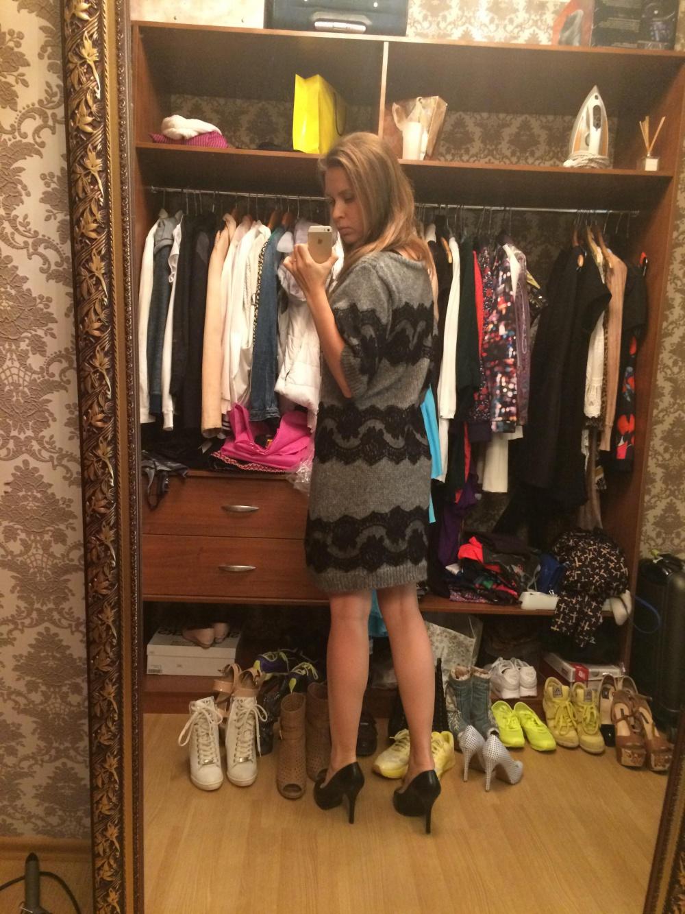 Мохеровое платье Dolce&Gabbana оригинал
