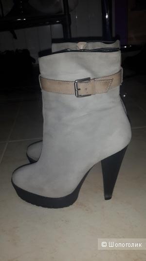 Кожаные ботинки из замши натуральной Briggite Bailey 37.5 размер