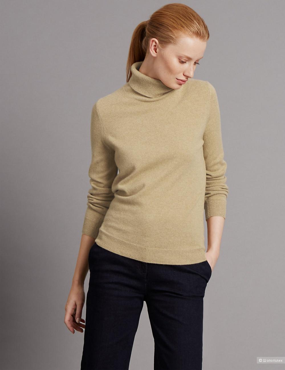 """Кашемировый свитер-водолазка """"Marks and Spencer"""" luxury"""