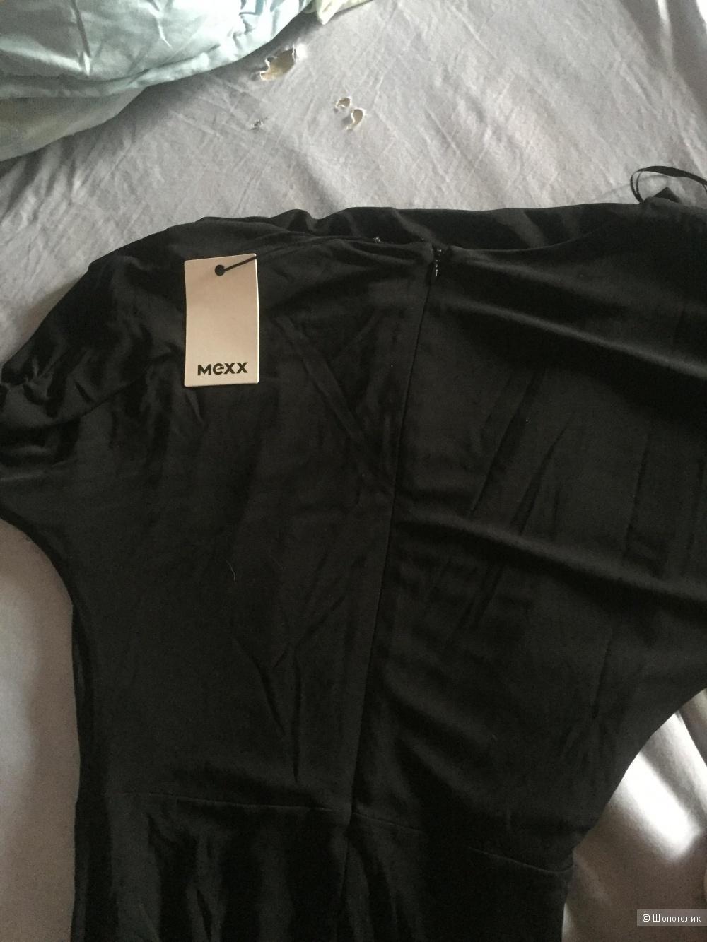 Новое платье вечернее чёрное mexx