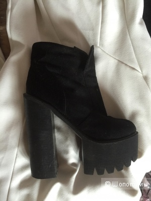 Ботинки туфли тракторы в стиле Джеффри