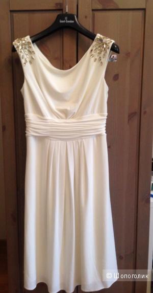 Белое платье Eliza J (США) р. 42-44