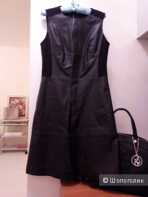 """Маленькое черное платье из натуральной кожи """"Marks and Spencer"""""""