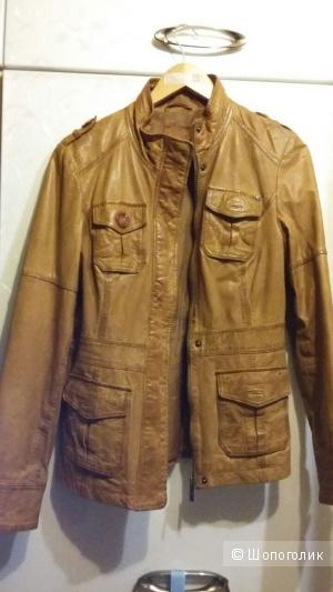 Кожаная куртка S.Oliver размер L