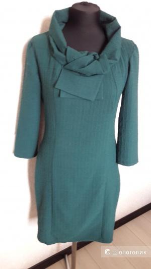Topshop, 40: изумрудное платье