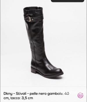 Сапоги демисезонные DKNY