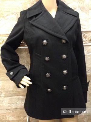 Jessica Simpson двубортное укороченное пальто р.46 Новое.