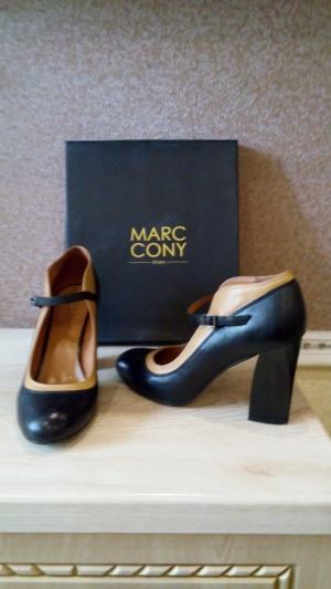 Туфли Marc Cony, натуральная кожа, 38 размер.