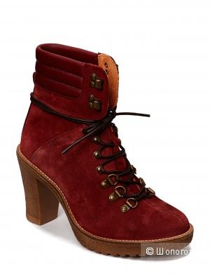 Новые замшевые ботинки Pieces Dean 37 р-р