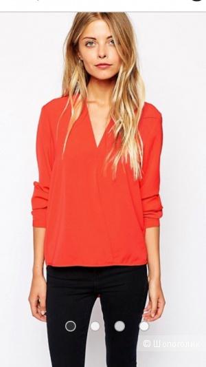 Рубашка с запахом спереди Vila (размер S)