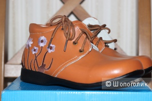 Детские кожаные ботинки Campanilla, размер 33