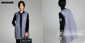 Стильное пальто/легкий пуховик размер М