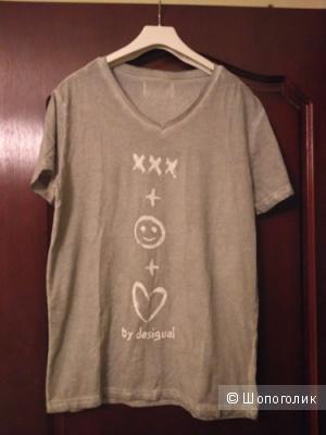 Новая футболка мужская (или унисекс) Desigual
