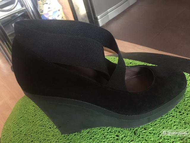Туфли замшевые Castaner