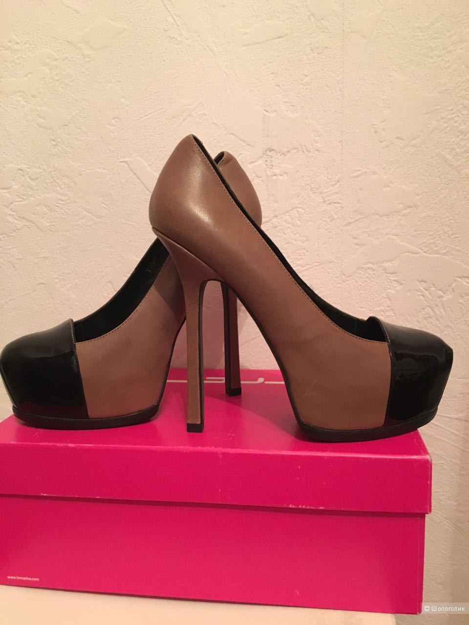 Туфли новые Gerzedo , 37 размер , 24-24,5 по стельке