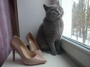Новые туфельки цвета нюд, размер 37