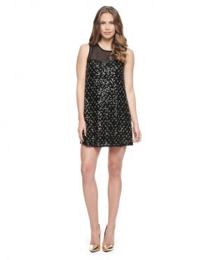 Juicy Couture шикарное платье расшитое пайетками и бисером Новое.Оригинал р.42-xs