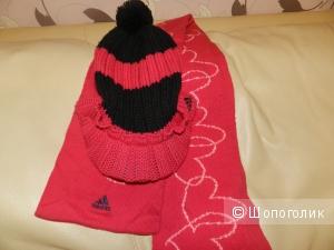 Шапка и шарф Adidas (оригинал)