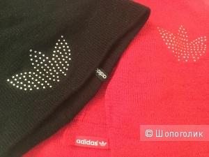 Комплект из шарфа и шапки Adidas Originals