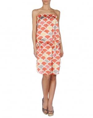 Пляжное шелковое платье Marzia Genesi Sea, M