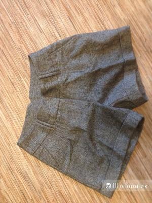 Новые теплые шорты 3SUISSES, 36фр, в составе шерсть