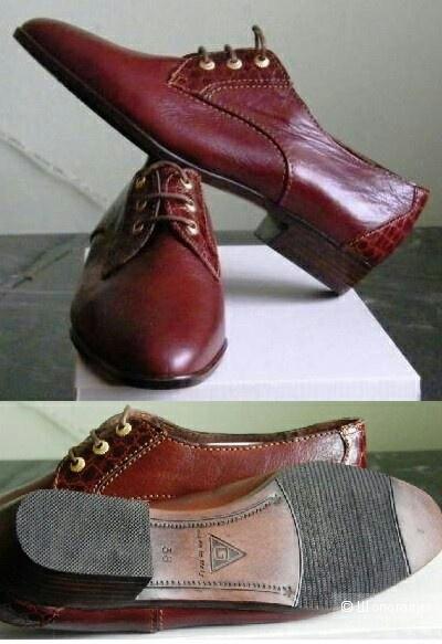 Итальянские ботинки ручной работы