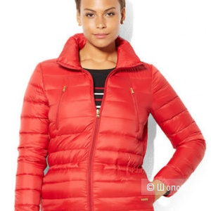 Легкий пуховик Ralph Lauren, размер 2Х (Full-Zip Down Jacket)