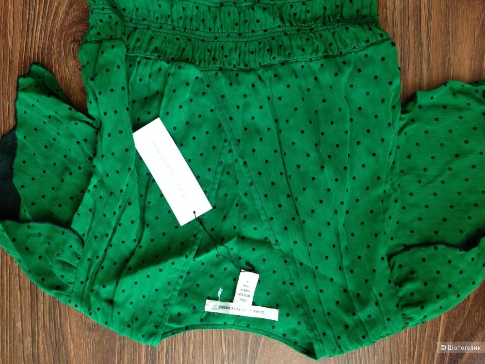 Diane Von Furstenberg красивое дизайнерское платье р.44 Новое