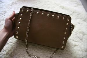 Новая коричневая сумочка