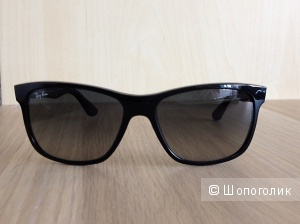 Солнцеащитные очки Ray-Ban (RB4181 Sunglasses 601/71-5716 Crystal Gray Gradient).
