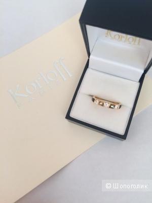 Золотое кольцо Korloff