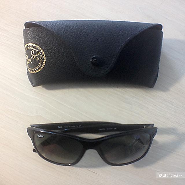 Солнцеащитные очки Ray-Ban (RB4181 Sunglasses 601/71-5716 Crystal Gray Gradient).
