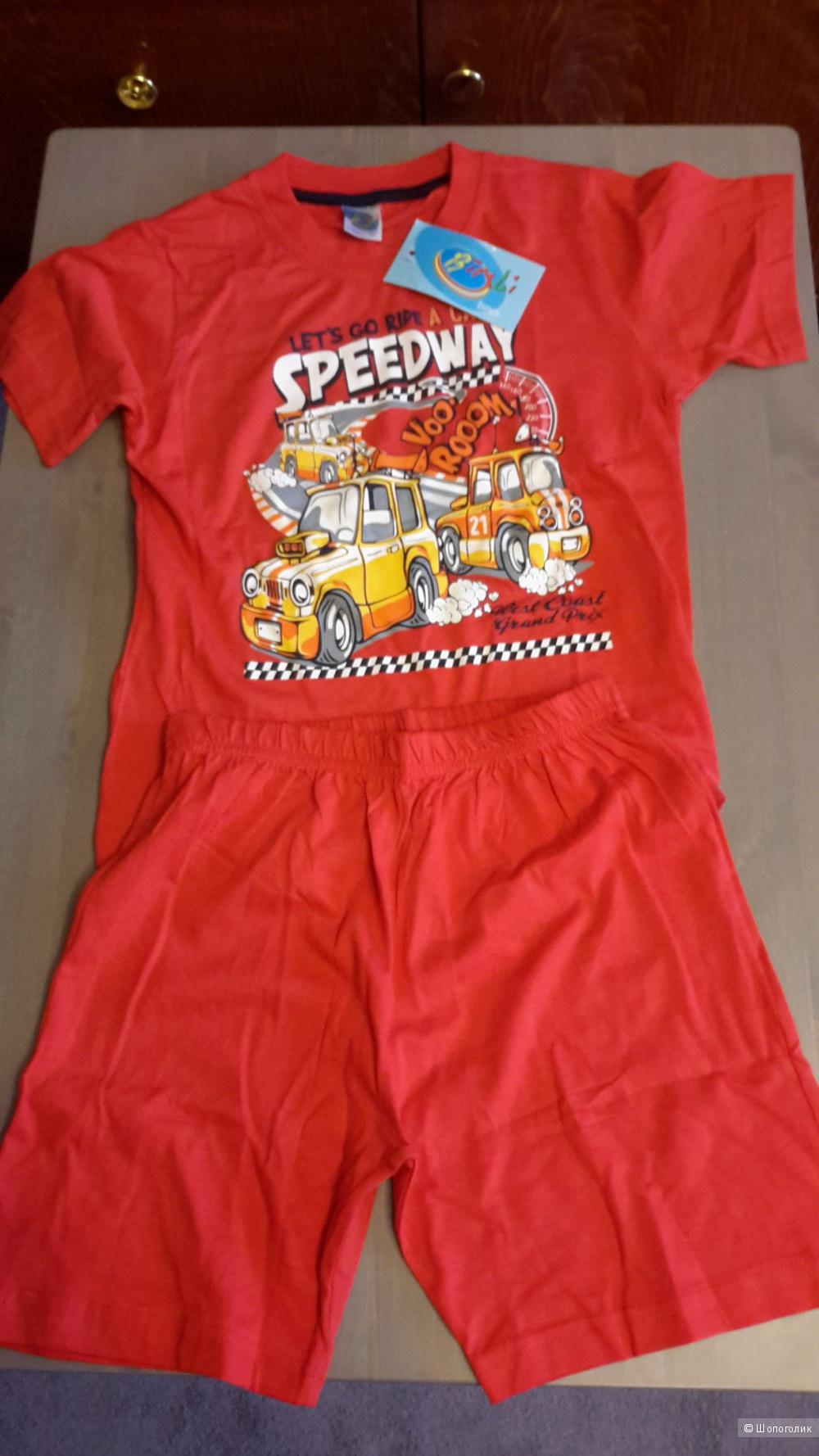 Пижама детская, новая, размер 116 см/6 лет