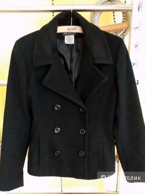 Полупальто шерсть 100% американского бренда Braefair  черного цвета  размер С-М