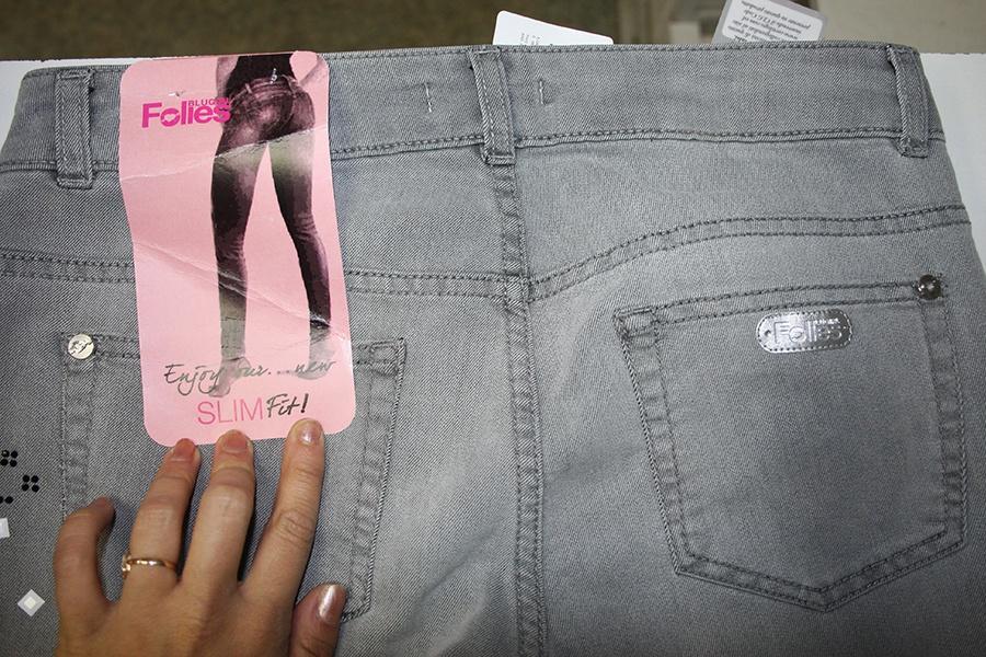 Новые джинсовые брюки Blugirl Folies (Blumarine), 28 р-р