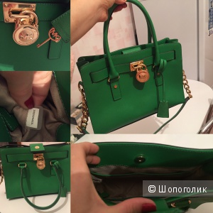Сумка Michael Kors Hamilton medium в цвете green