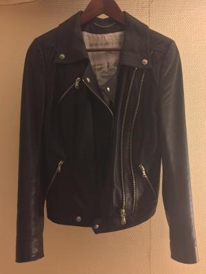Кожаная куртка-косуха Drykorn