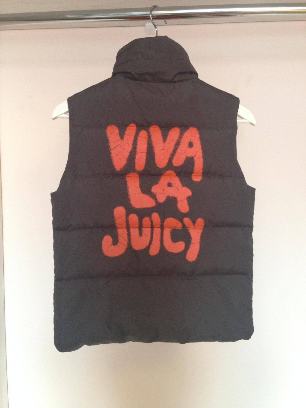 Двусторонний пуховый жилет Juicy Couture