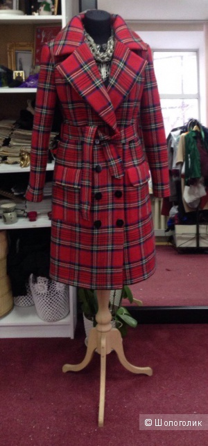 Дизайнерское Пальто, Размер S-M