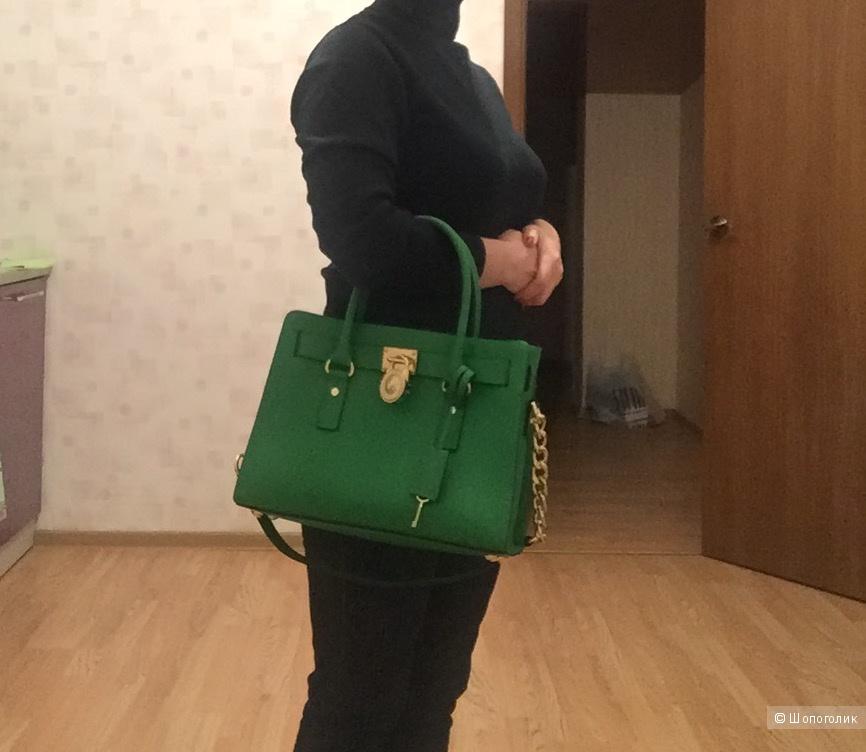 Сумка Michael Kors Hamilton medium в цвете green