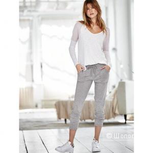 Женские спортивные штаны Victoria's Secret оригинал, размер S,цвет-серый и черный,новые
