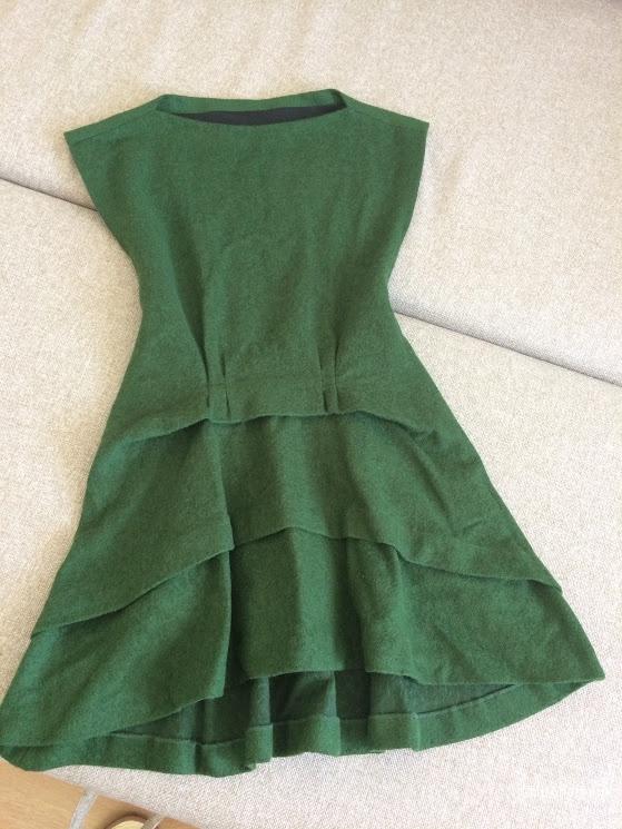 Новое теплое зимнее платье