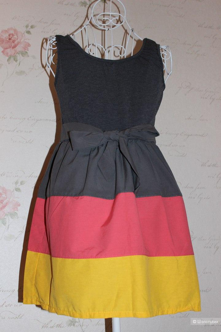 Летнее платье сарафан,размер M,новое