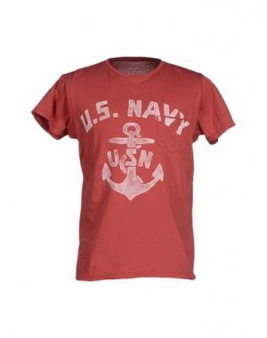 Новая футболка мужская Bowery, размер S, красный