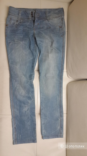 Отличные джинсы MGL модель как бойфренд, поб 49 см